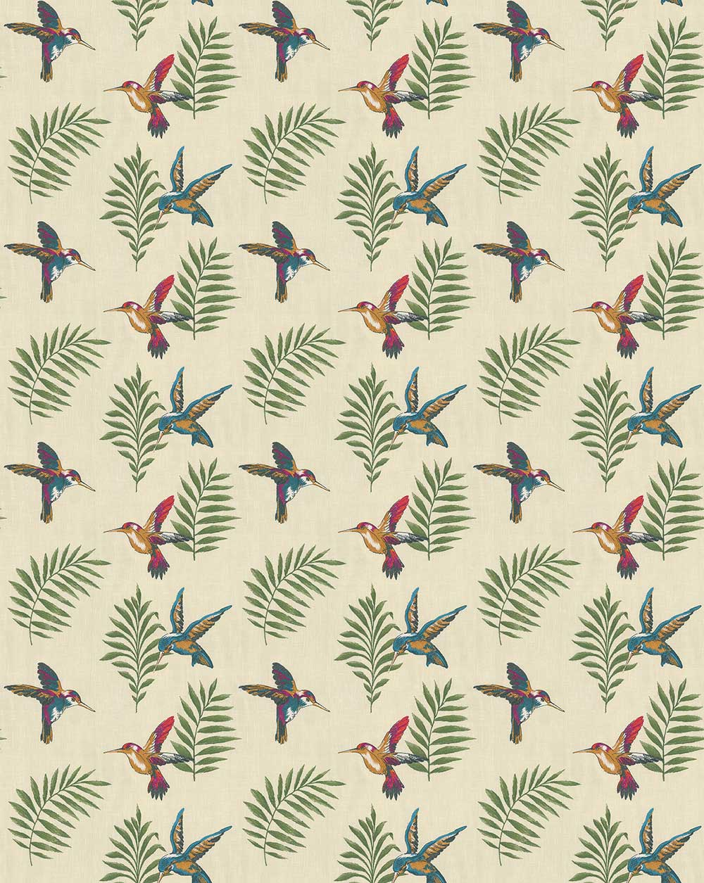 Monserrat Fabric - Cassis - by iliv