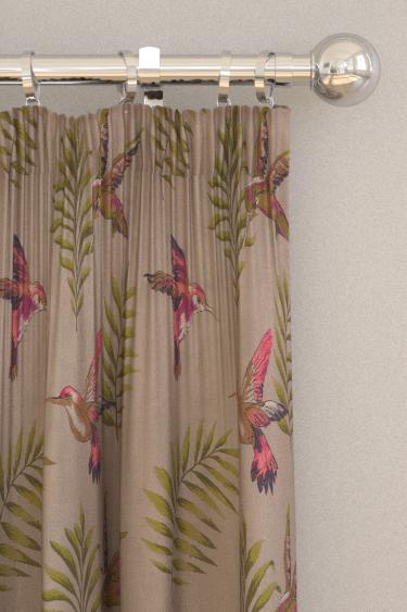 iliv Monserrat Cranberry Curtains - Product code: ETAQ/MONSECRA