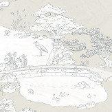 Sandberg Kenrokuen Beige Wallpaper - Product code: 239-29