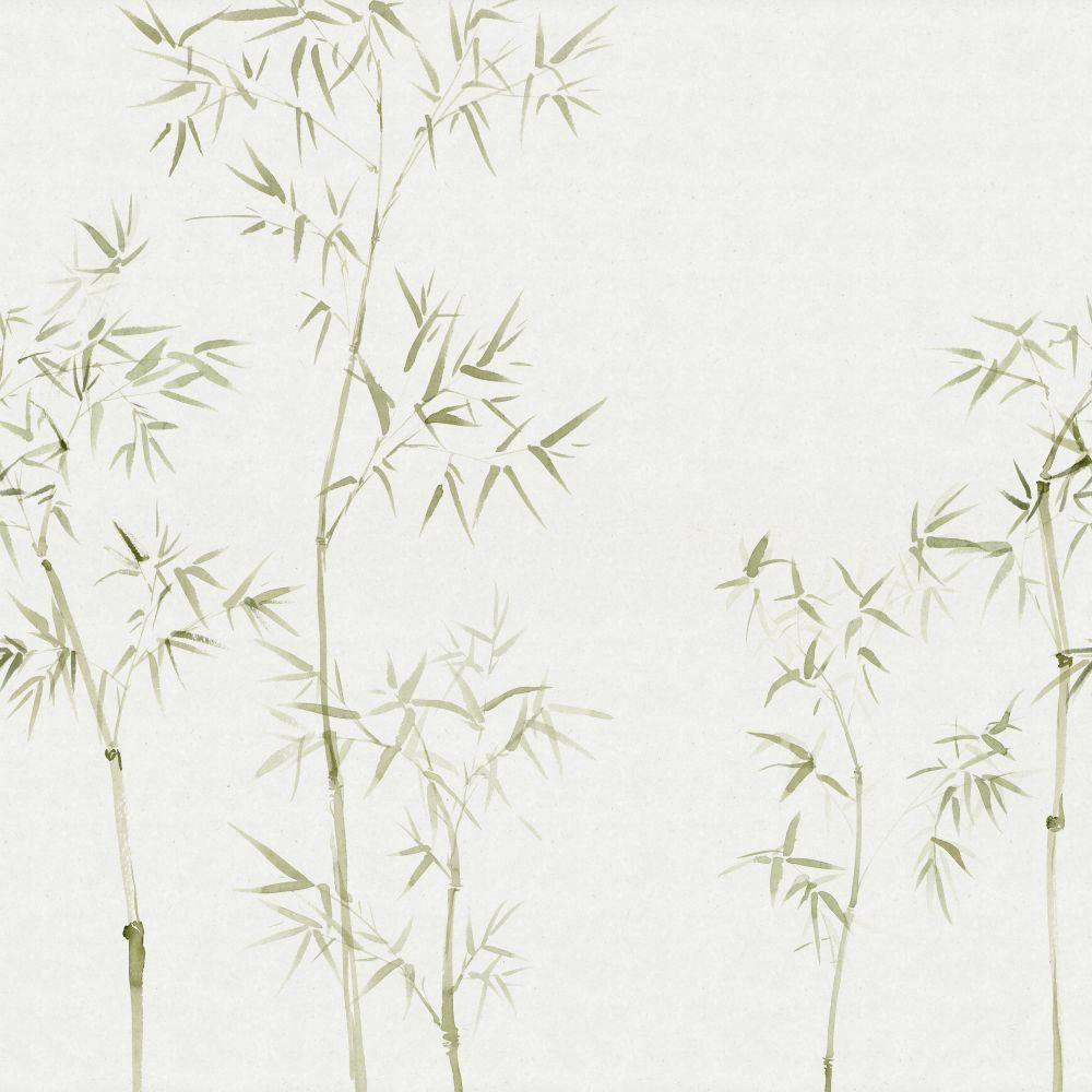Arashiyama Mural - Green - by Sandberg