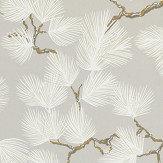 Sandberg Pine Grey Wallpaper
