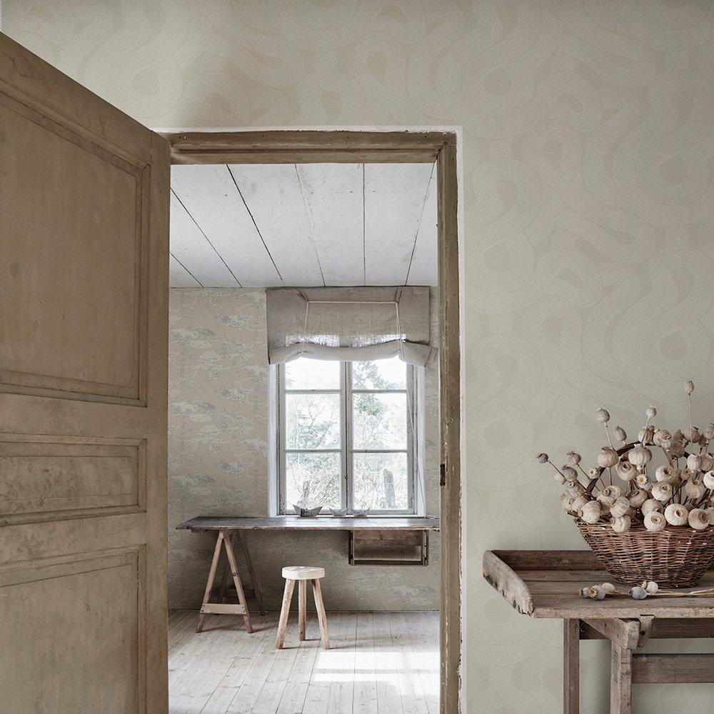 Zen Wallpaper - Linen - by Sandberg