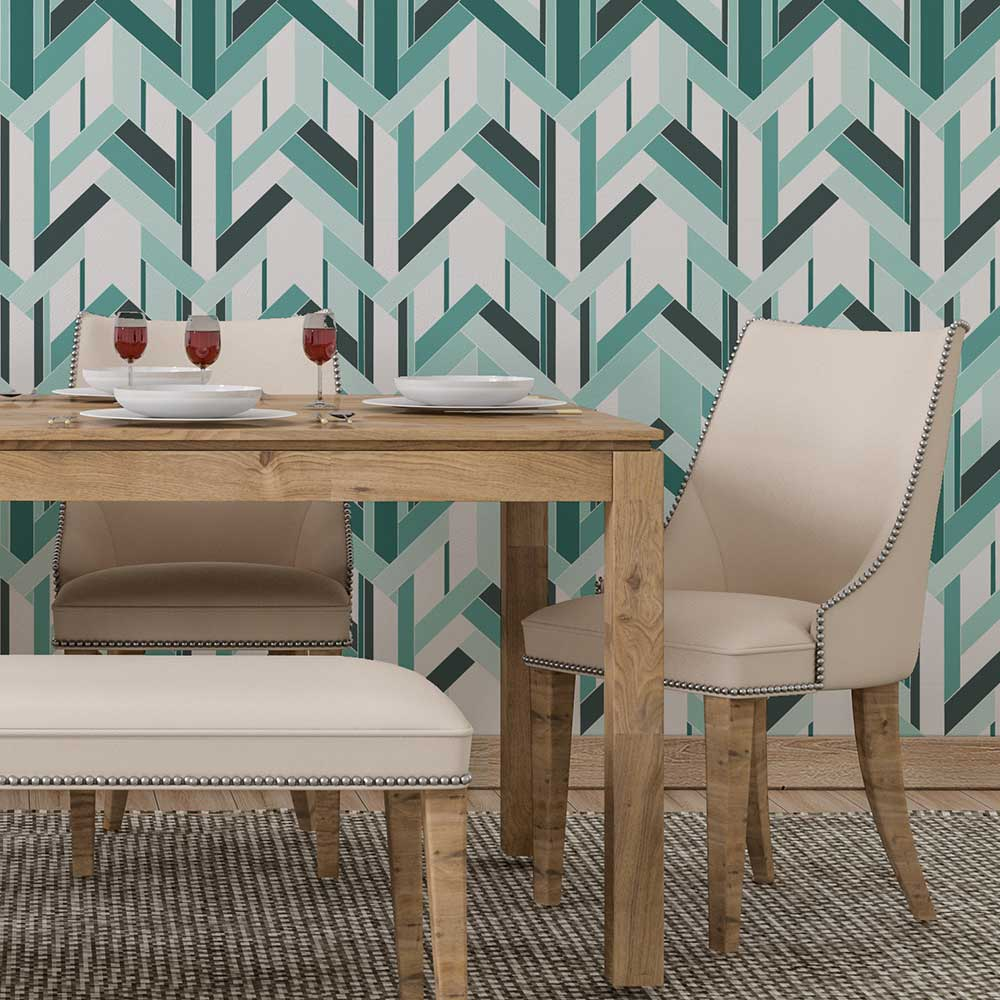 Petronella Hall Fitz Blue Wallpaper - Product code: 11860