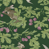 Petronella Hall Fig Green Wallpaper - Product code: 11865