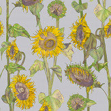 Petronella Hall Sunflowers Grey Wallpaper - Product code: 11868
