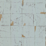 Osborne & Little Faenza Tile Mint Wallpaper - Product code: W7332-03