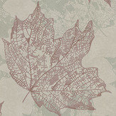 Osborne & Little Sycamore Sage / Rose Gold Wallpaper - Product code: W7336-05