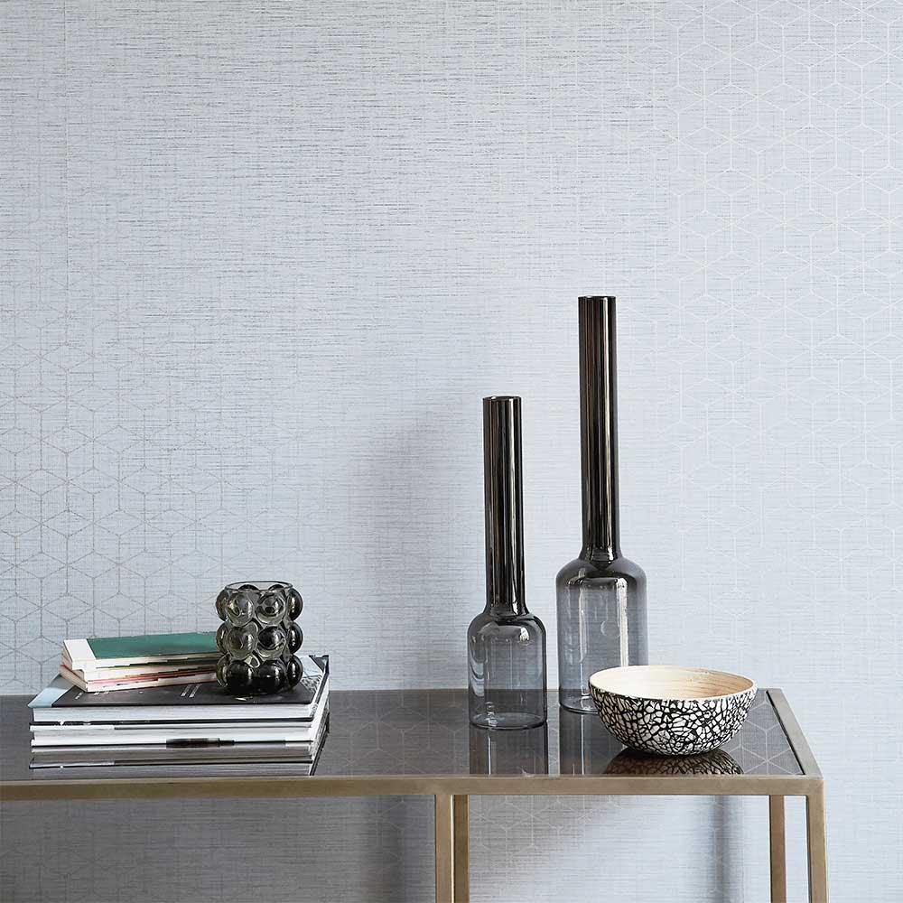 Vault Wallpaper - Stone - by Harlequin