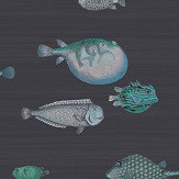 Cole & Son Acquario Ink Wallpaper - Product code: 114/16032