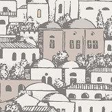 Cole & Son Mediterranea Parchment / Gilver  Wallpaper - Product code: 114/19038