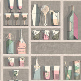 Cole & Son Cocktails Pastel Wallpaper - Product code: 114/23044