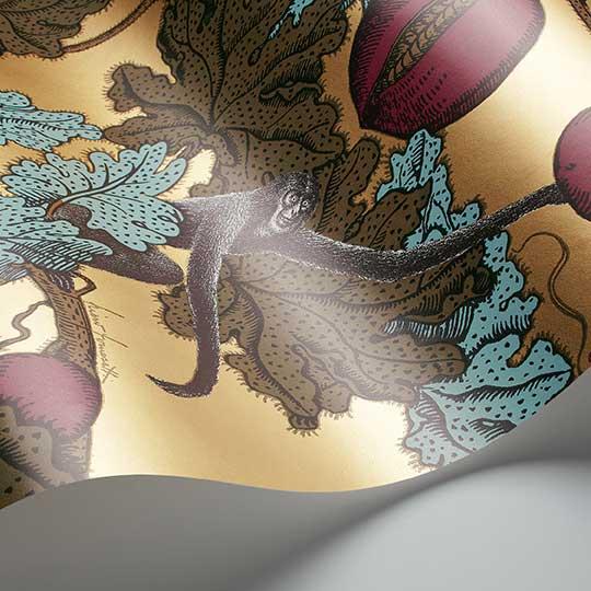 Cole & Son Frutto Proibito Gold Wallpaper - Product code: 114/25049