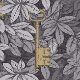 Cole & Son Chiavi Segrete Slate Blue Wallpaper