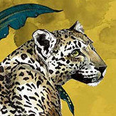 Graduate Collection Cheetah Mustard Wallpaper - Product code: LH1CHEWALMUS
