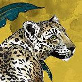 Graduate Collection Cheetah Mustard Wallpaper