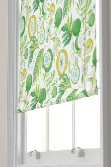 Sanderson Jackfruit Botanical Green Blind - Product code: 226559