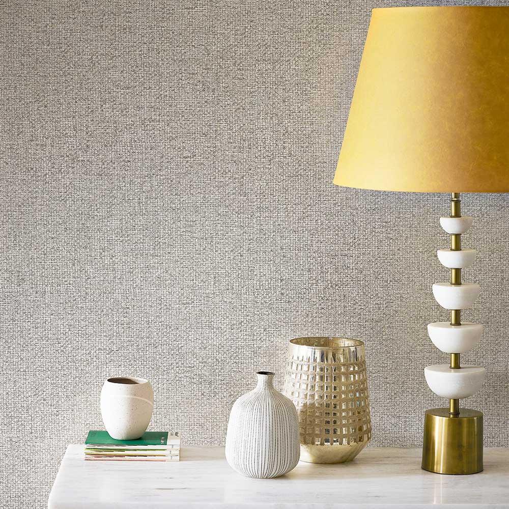 Mansa Wallpaper - Walnut - by Harlequin