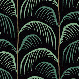 Eijffinger Palm Black Wallpaper - Product code: 399073