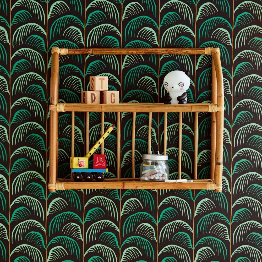 Eijffinger Palm Black Wallpaper - Product code: 399073