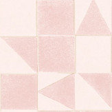 Eijffinger Geometric Pink Wallpaper - Product code: 399091