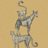 Eijffinger Safari Stack Ochre Mural - Product code: 399112