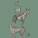Eijffinger Safari Stack Green Mural - Product code: 399113
