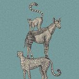 Eijffinger Safari Stack Blue Mural - Product code: 399114