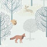 Eijffinger Forest Animals Blue / Green Mural - Product code: 399116