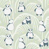 Eijffinger Panda Palm Green Mural - Product code: 399120