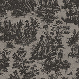 Coordonne Laeken Black and Grey Wallpaper - Product code: 7800705