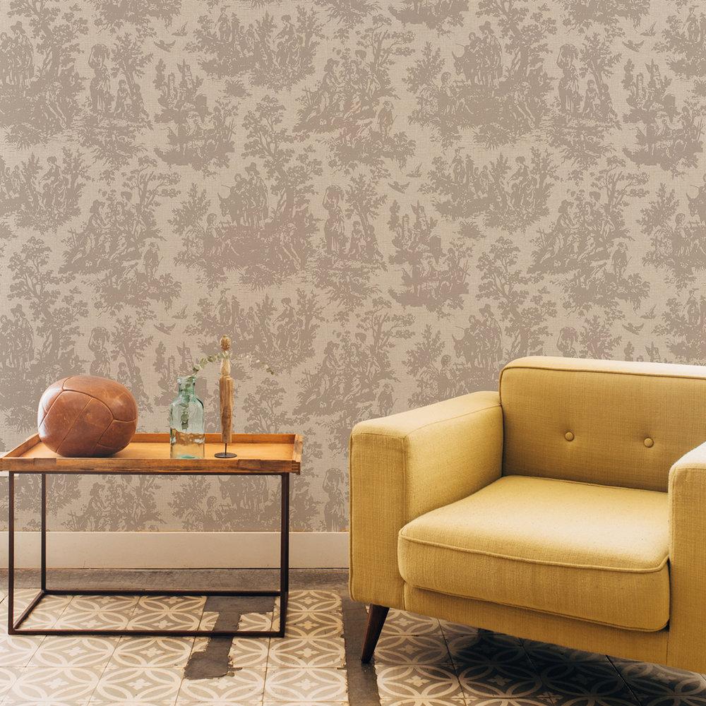 Coordonne Laeken Gold Wallpaper - Product code: 7800712
