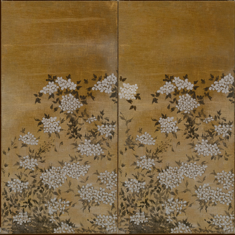 Coordonne Jute Golden Yellow Mural - Product code: 7800993