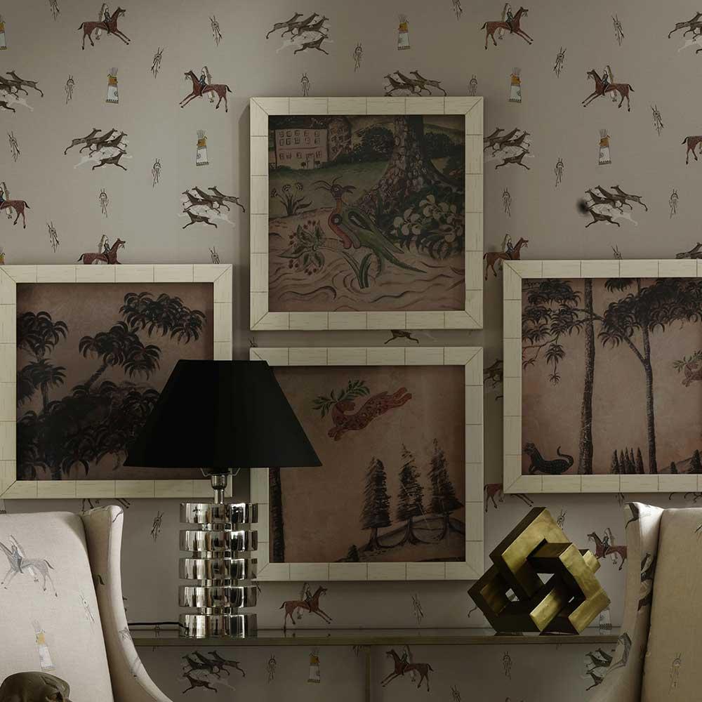 Andrew Martin Apache Sienna Wallpaper - Product code: AP01-SIENNA