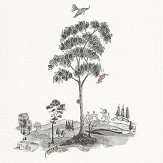 Andrew Martin Pear Tree Graphite Wallpaper - Product code: PT02-GRAPHITE