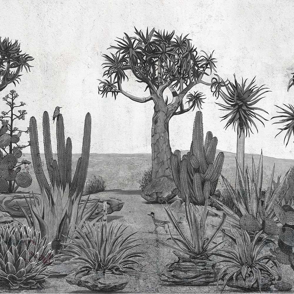 Meiji Mural - Chia Seed - by Coordonne