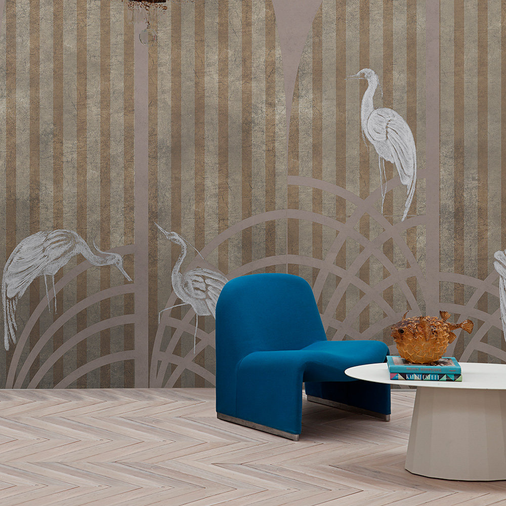 Coordonne Tassel Rose Mural - Product code: 7900151