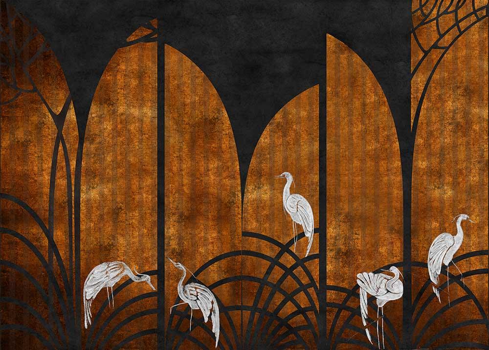 Coordonne Tassel Ginger Mural - Product code: 7900153