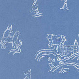 Andrew Martin Wychwood  Happy Blue Wallpaper