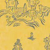 Andrew Martin Wychwood  Provencal Yellow Wallpaper