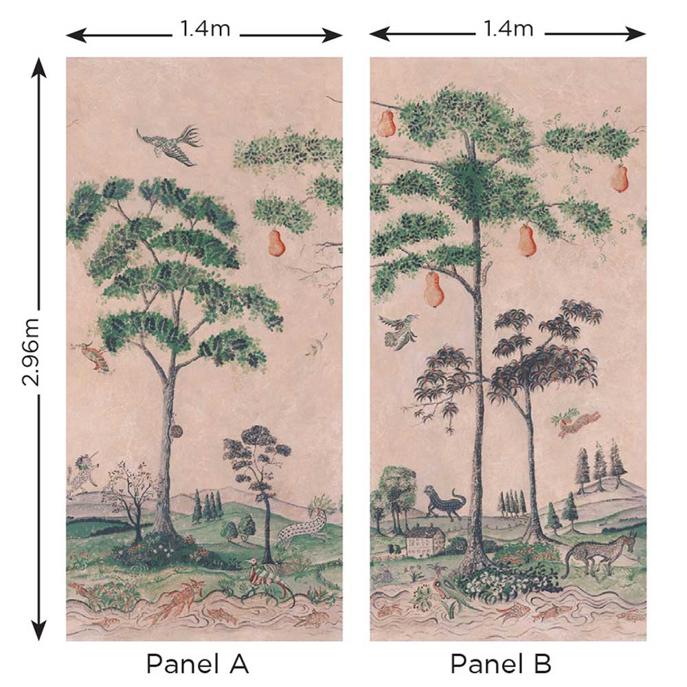 Mythical Land Mural - Setting Plaster - by Andrew Martin
