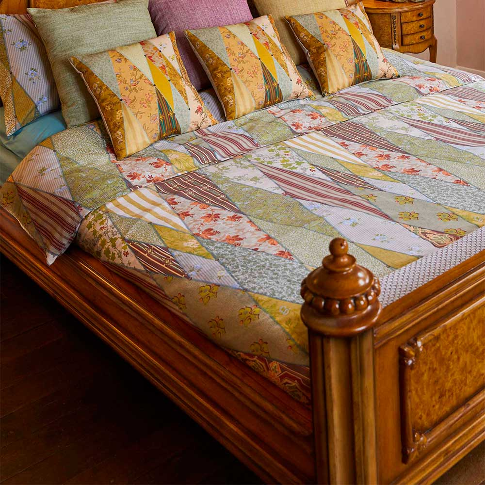 The Chateau Wallpaper Museum Duvet Set Duvet Cover - Multi-coloured - by The Chateau by Angel Strawbridge