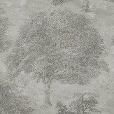 SketchTwenty 3 Sherwood Smoke Grey Wallpaper - Product code: SO00932