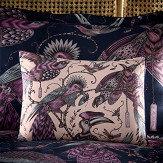 Clarke & Clarke Audubon Boudoir Pillowcase  Pink - Product code: M2060/02