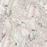 Albany Parrot Jungle Pink Wallpaper - Product code: 447873