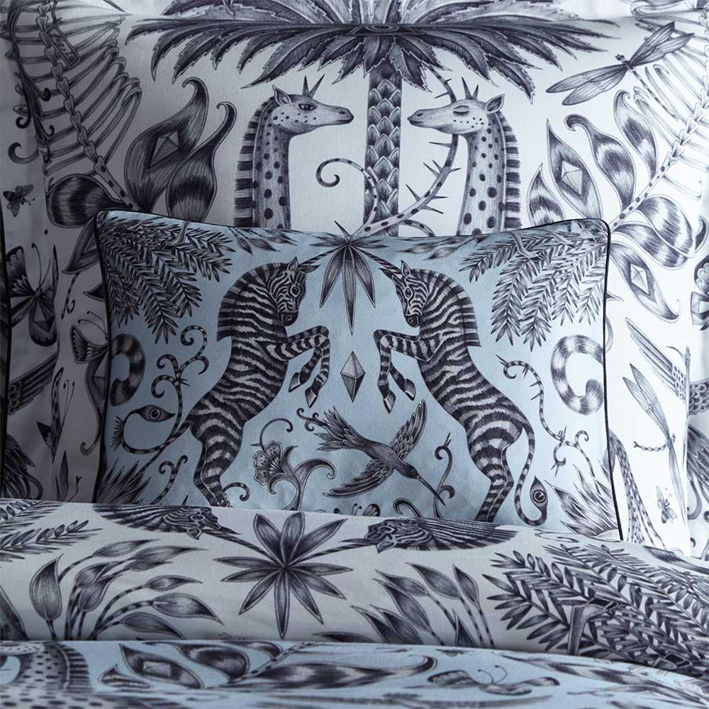 Emma J Shipley Kruger Boudoir Pillowcase  Duck Egg - Product code: M2063/01