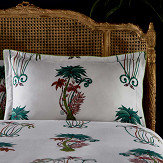 Clarke & Clarke Jungle Palms Oxford Pillowcase Multi-coloured - Product code: M2067/01