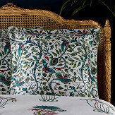 Clarke & Clarke Jungle Palms Square Oxford Pillowcase  Multi-coloured - Product code: M2068/01