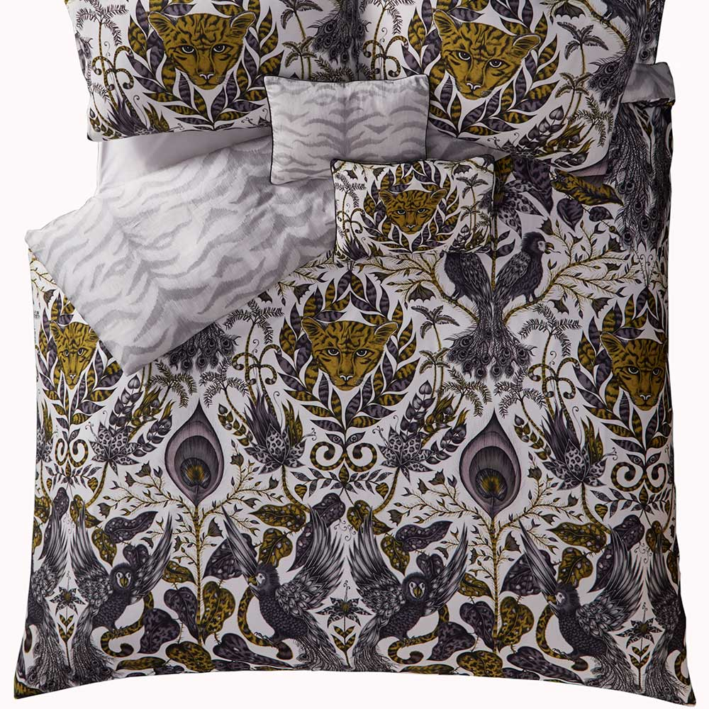 Amazon Duvet Cover - Gold - by Emma J Shipley