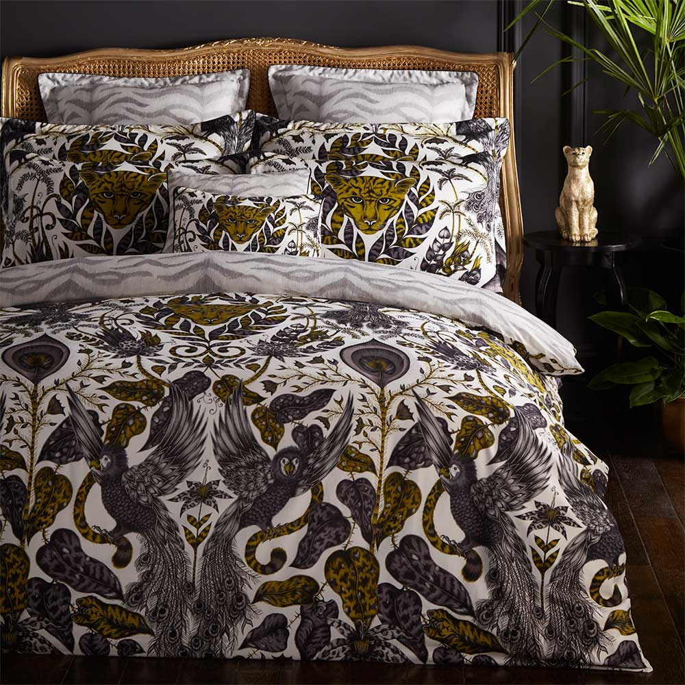 Emma J Shipley Amazon Boudoir Pillowcase  Gold - Product code: M2057/01
