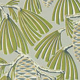 Harlequin Foxley Fern/ Stone Wallpaper